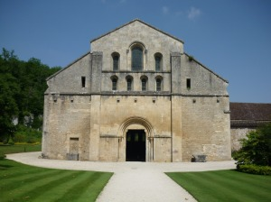 The Chapel at Fontenay Abbey