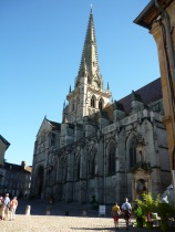 Cathedral in city of Autun