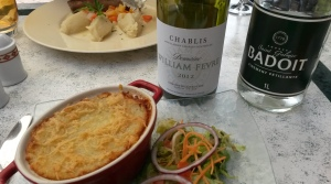 A great pairing in Chablis