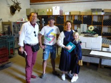 Clients with Jean-Marie Bouzereau in Meursault